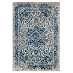 Manning Beige Power-Loomed Area Rug, 5x8