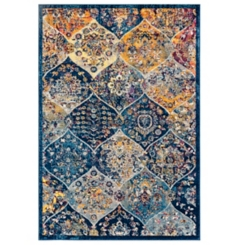 Manning Multicolor Power-Loomed Area Rug, 5x8