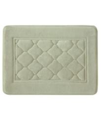 Linen Microban Antimicrobial Memory Foam Bath Mat