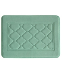Aqua Microban Antimicrobial Memory Foam Bath Mat