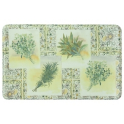 Hygge Herbs Memory Foam Kitchen Mat