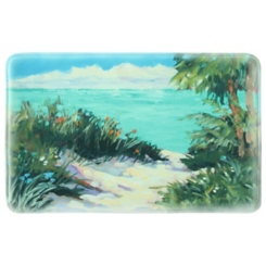Warm Paradise Memory Foam Kitchen Mat