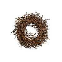 Brown Rattan Wreath