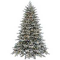 7.5 ft. Pre-Lit Vermont Spruce Christmas Tree