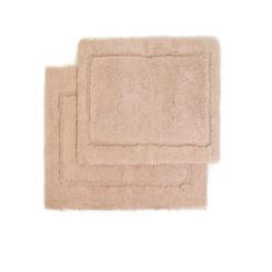 Taupe Spa 2-pc. Microfiber Bath Mat
