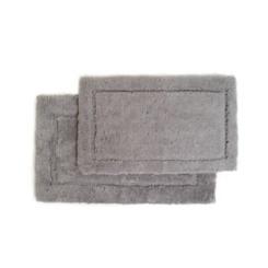 Gray Spa 2-pc. Microfiber Bath Mat