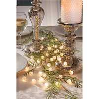 Crackle Bead Bulb String Lights, Set of 2