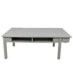 Soft Gray Kids Art Play Desk