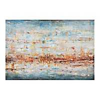 Ledbetter Beach Canvas Art Print