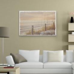 Sea Grass at Sunset Canvas Art Print