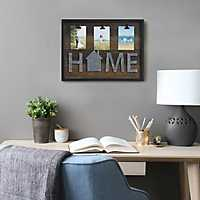 Home 3-Opening Collage Frame with Clips