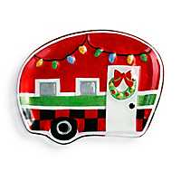 Holiday Camper Christmas Plate