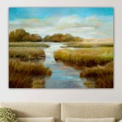 Marsh Delight Giclee Canvas Art Print