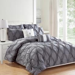 Gray Akita 8-pc. Queen Comforter Set