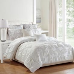 White Akita 8-pc. Queen Comforter Set