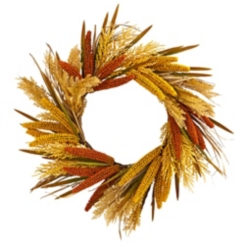 Sorghum Harvest Wreath