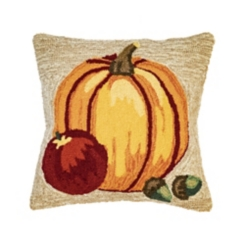 Fall Garden Outdoor Pillow