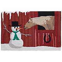 Winter Farm Outdoor Accent Rug