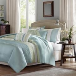 Green Chester 7-pc. Queen Comforter Set