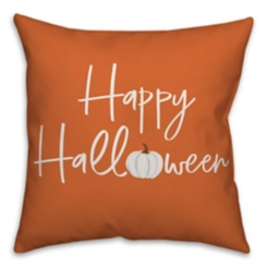 Happy Halloween Double Sided Outdoor Pillow