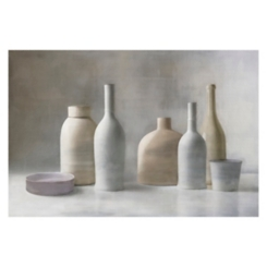 Faded Pottery Giclee Canvas Art Print