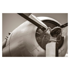 Vintage Aviation I Giclee Canvas Art Print