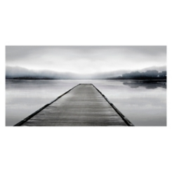 Peaceful Walkway Giclee Canvas Art Print
