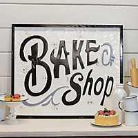 Metal Bake Shop Sign