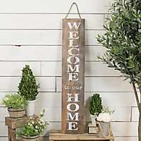 Welcome To Our Home Wooden Sign