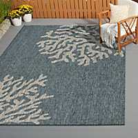 Andros Reef Captiva Outdoor Area Rug, 8x9