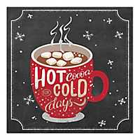 Hot Cocoa for Cold Days Canvas Art Print
