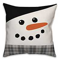 There's Snow Place Like Home Snowman Pillow