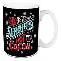 Old Fashioned Sleigh Rides Christmas Mug