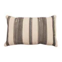 Black Stripe Levi Accent Pillow