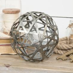 Galvanized Sphere, 5 in.