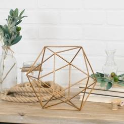 Geometric Metal Figurine