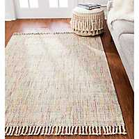Parthi Multicolored Jute Area Rug, 8x10