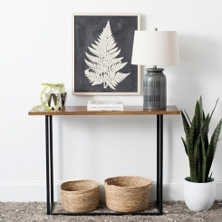 Laurie Modern Rectangle Console Table