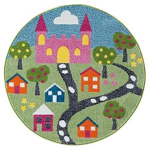Whimsical Fairytale Round Area Rug 5 Ft Kirklands