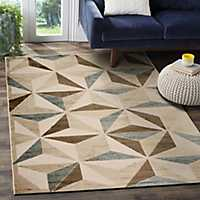 Subtle Diamond Tranquility Accent Rug