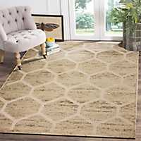 Sweet Honeycomb Tranquility Accent Rug