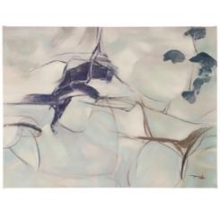 Natural Abstract I Embellished Canvas Art Print