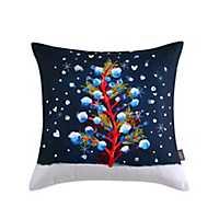 Sara B. Christmas Tree Square Pillow