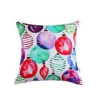 Sara B. Christmas Ornaments Pillow