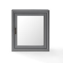 Tyler Vintage Gray Bath Cabinet Mirror