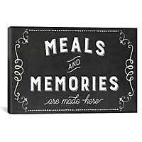 Meals and Memories Canvas Art Print