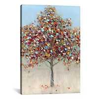 Confetti Tree Canvas Art Print