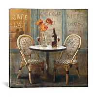 Meet Me At Le Cafe I Canvas Art Print