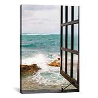 Looking to the Sea Canvas Art Print