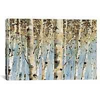 White Forest I Canvas Art Print